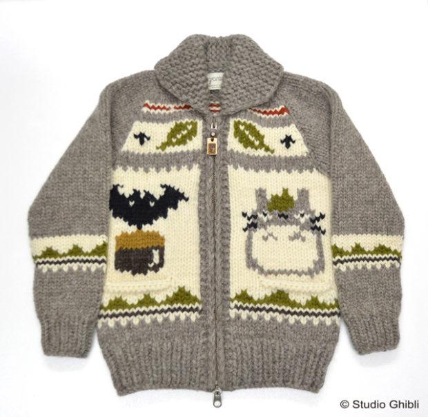 actualidad curiosidades japon  Studio Ghibli - Mi Vecino Totoro y el jersey que necesitas este invierno!!