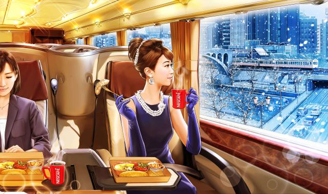 Desayuno de lujo en bus y en casa con Japonshop!