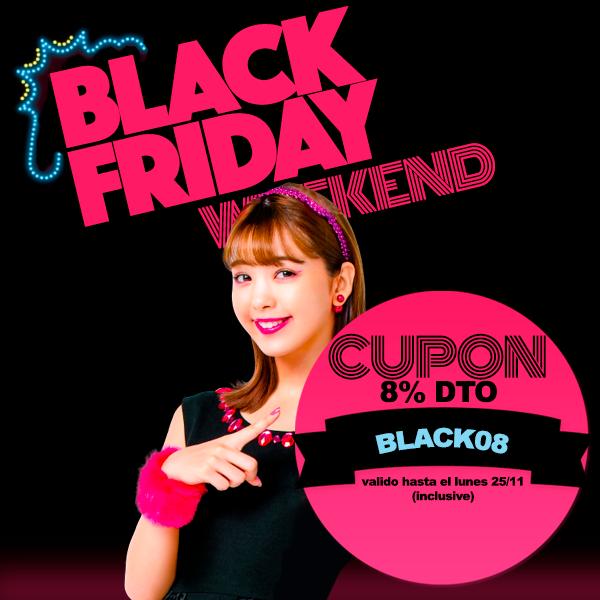japonshop  ¡Oferta Cupón BLACKFRIDAY 8% DTO! ÚLTIMO DÍA