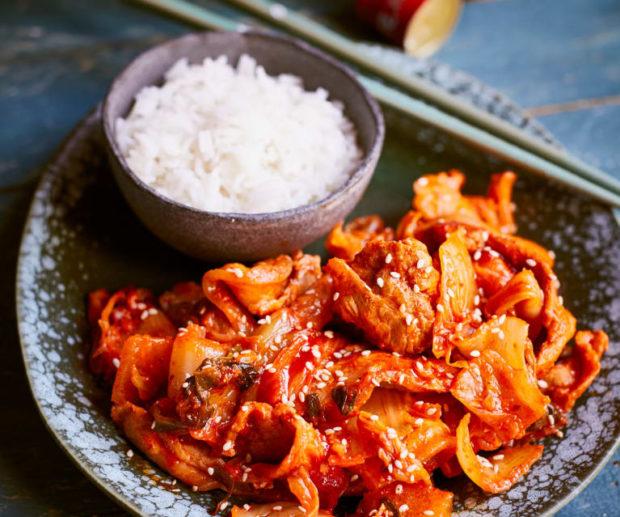 comida corea japonshop  Itadakimasu! Probando ando Mayonesa de Kimchi! Kimchinesa!