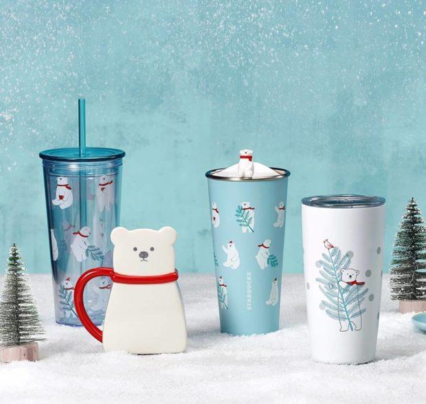 actualidad curiosidades  Llega Navidad a Starbucks con nueva colección Oso Polar! La La laaaaaaa