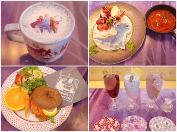 actualidad japon japonshop  Comiendo en Oh my Cafe FROZEN Collab edition