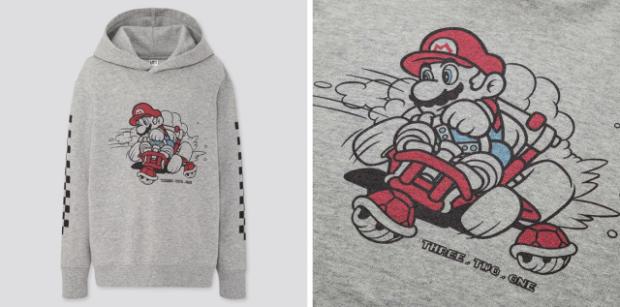 actualidad japon  A flipar con las nuevas camisetas de Mario Kart de UNIQLO Japón