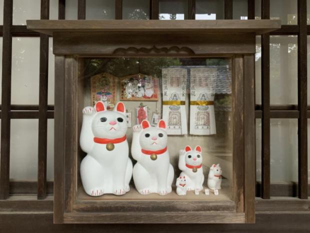 curiosidades japon  Visitando ando! Gotokuji el templo de los manekinekos en el profundo Japón