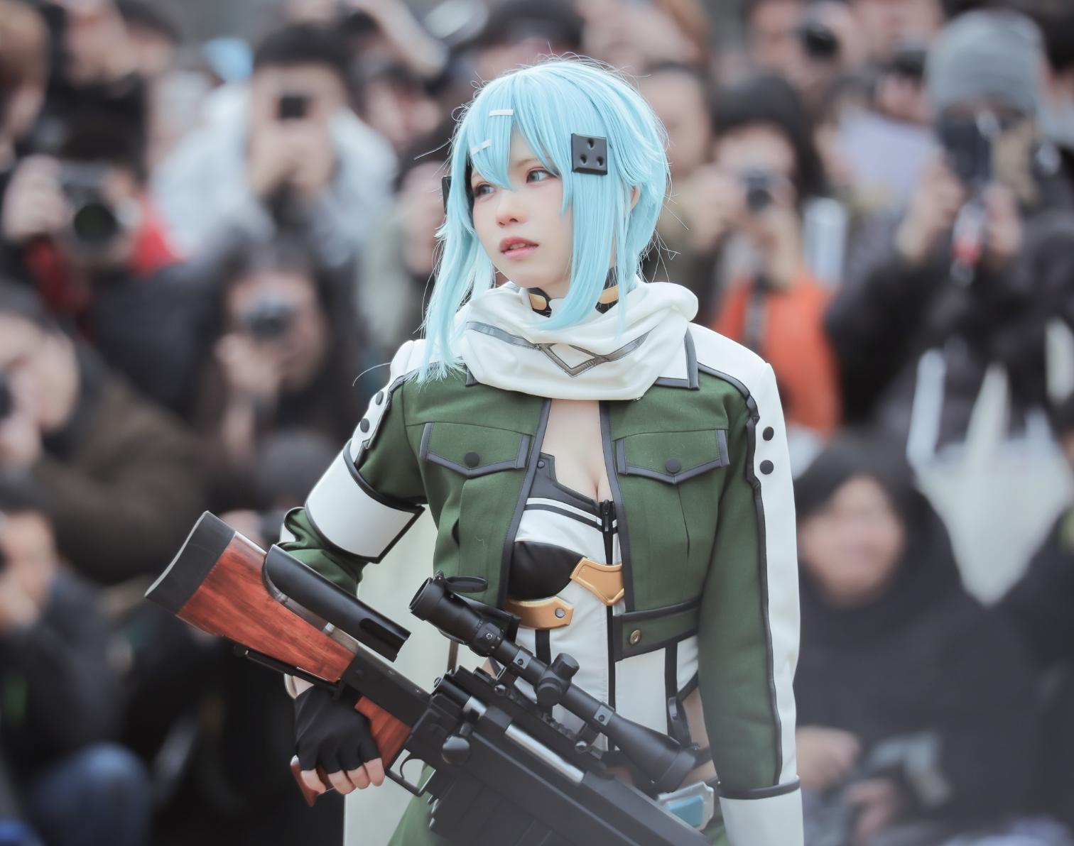Los cosplays del Winter Comiket y EnakoCos con su presencia espectacular!