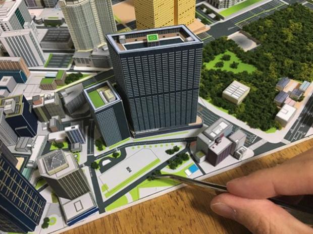curiosidades japon  Alucina con esta maqueta de Shinjuku a escala 1/2200 realizada por un japonés!