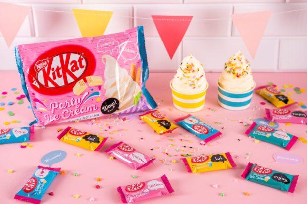 japon japonshop  NUEVOS Kit Kat en Japonshop! Naranja-chocolate y Helado-barquillo!