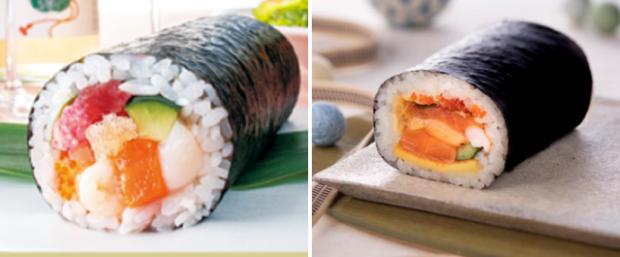 Sin categoría  9 Sushi Rolls Ehomaki! El maki para gobernarlos a todos!