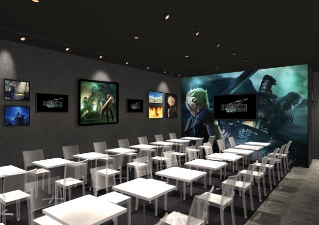 Final Fantasy VII Cafe abrirán en Tokyo y Osaka con motivo del esperado remake!