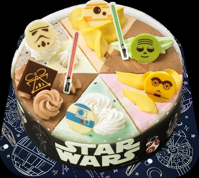 Baskin Robbins X Star Wars los helados de la Fuerza y del heLADO oscuro!!