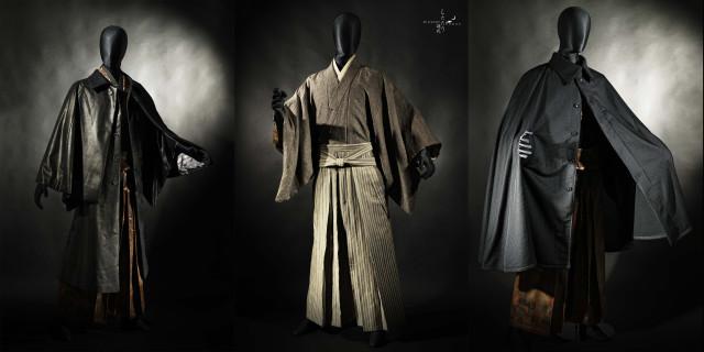Alta costura de Wazigen Shizukaya con los nuevos kimonos de corte clásico-moderno!