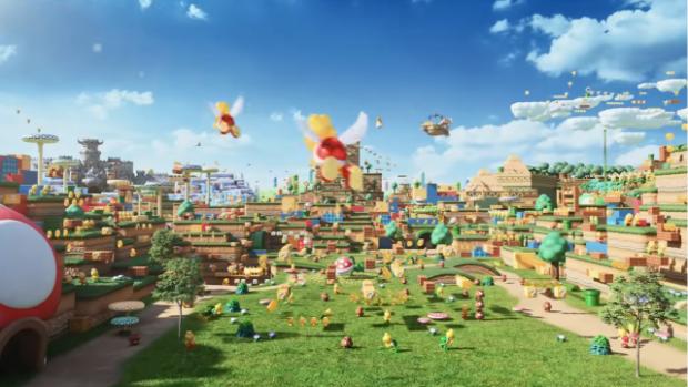 actualidad japon  Universal Studios Japan Super Nintendo World está cada vez más cerca!