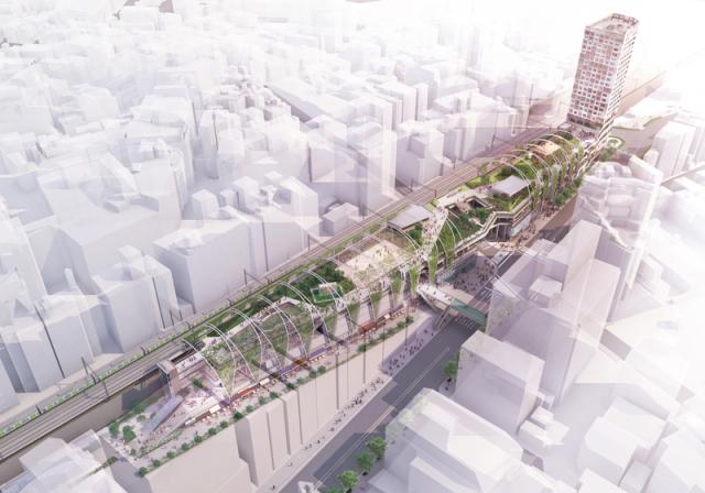 En breve en Japón: Parque multiusos en pleno corazón de Shibuya!