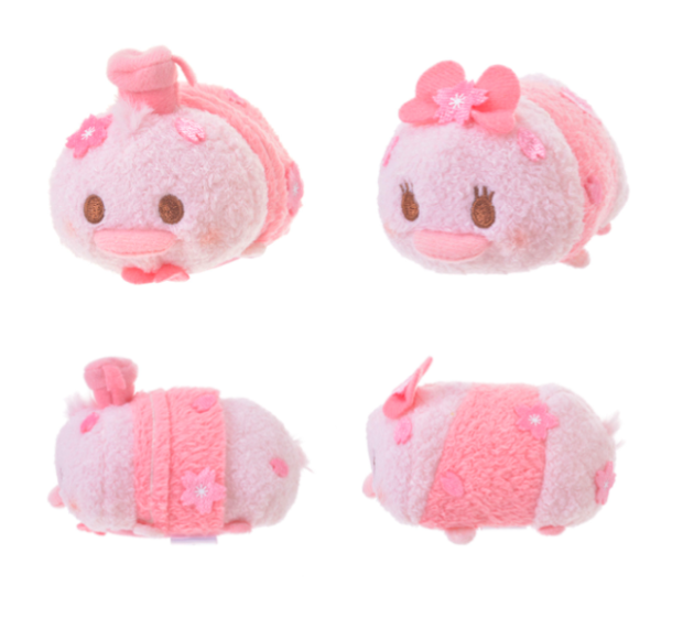 actualidad japon  Alucinantes y achuchables!! Nuevos Peluches Disney Tsum Tsum Cherry Blossom!
