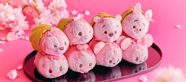 Alucinantes y achuchables!! Nuevos Peluches Disney Tsum Tsum Cherry Blossom!