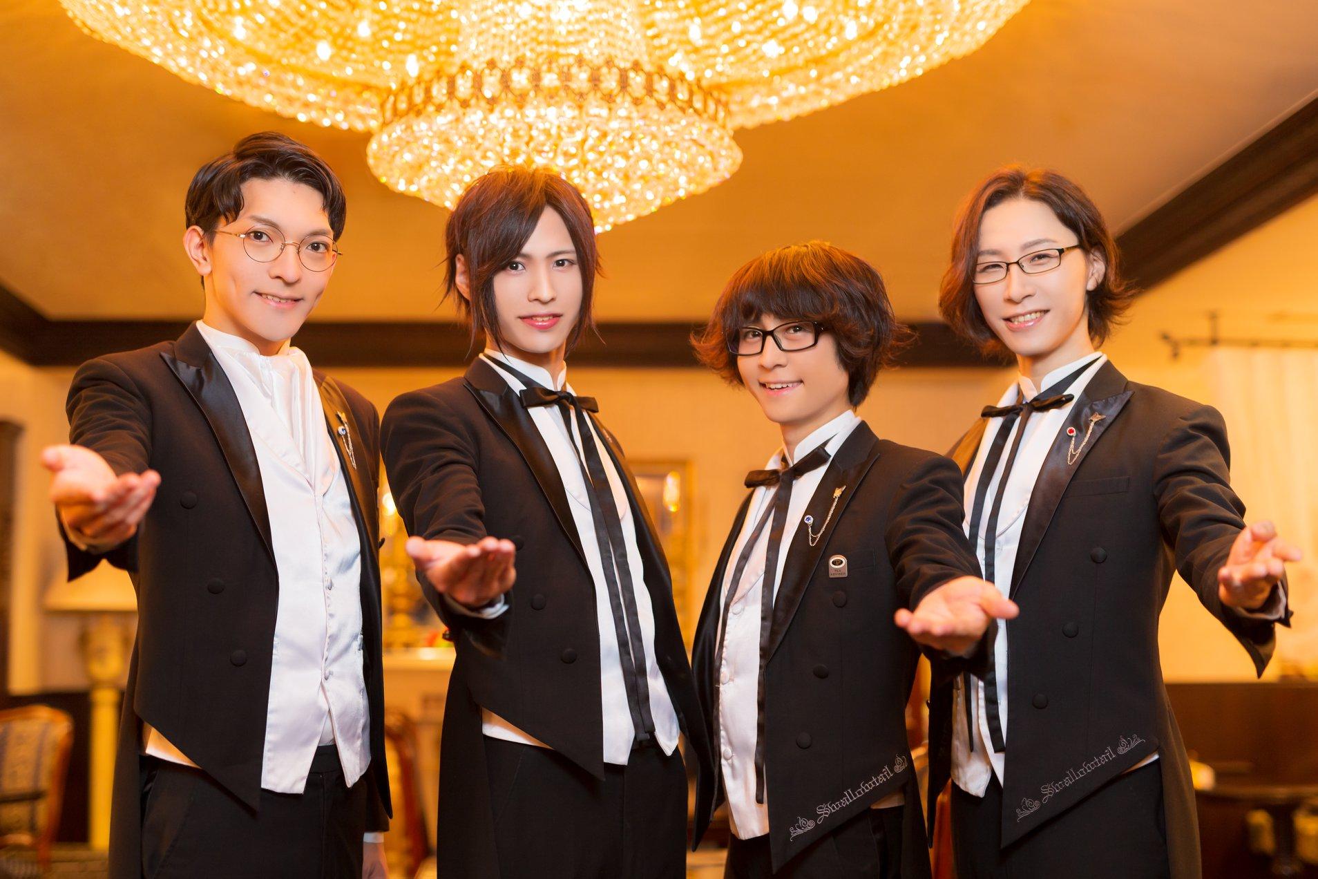 ¡Swallowtail, el mayordomo café en Tokyo Ikebukuro con ambientación espectacular!