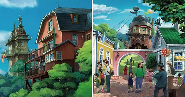 El parque Ghibli recreará el Castillo de Howl, Irontown de Mononoke y la casa de Kiki entre otras. ¿Soñamos?