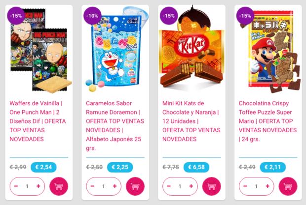 japonshop  ÚLTIMO DÍA ¡Ofertón: 40 productos Top Ventas y Novedades hasta un 15%!