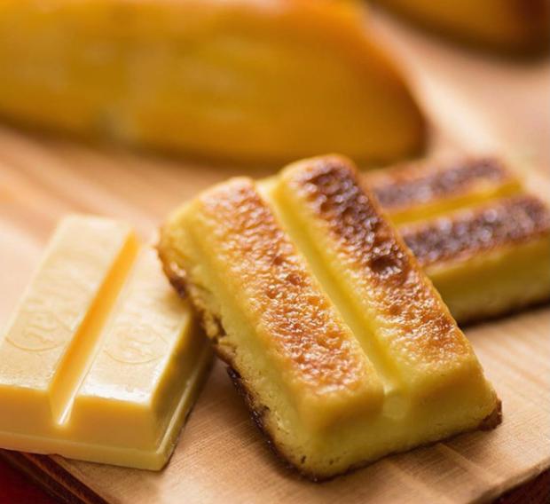 comida japonshop  ¡Disfruta de Kit Kat Pudding horneado con el fresquito de invierno!