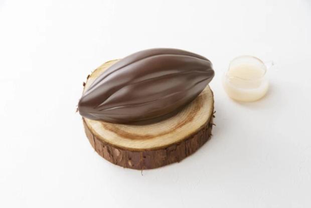 Sin categoría  Cocoa pod o vaina de Chocolte, el último postre definitivo de Kit Kat Japón!