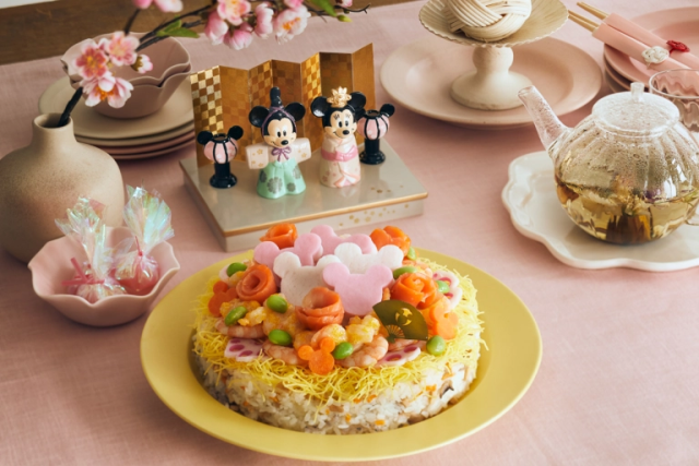 Disney Sushi! De Mickey Mouse a Hina Matsuri!