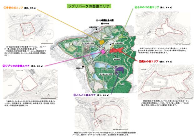 actualidad japon  El parque Ghibli recreará el Castillo de Howl, Irontown de Mononoke y la casa de Kiki entre otras. ¿Soñamos?