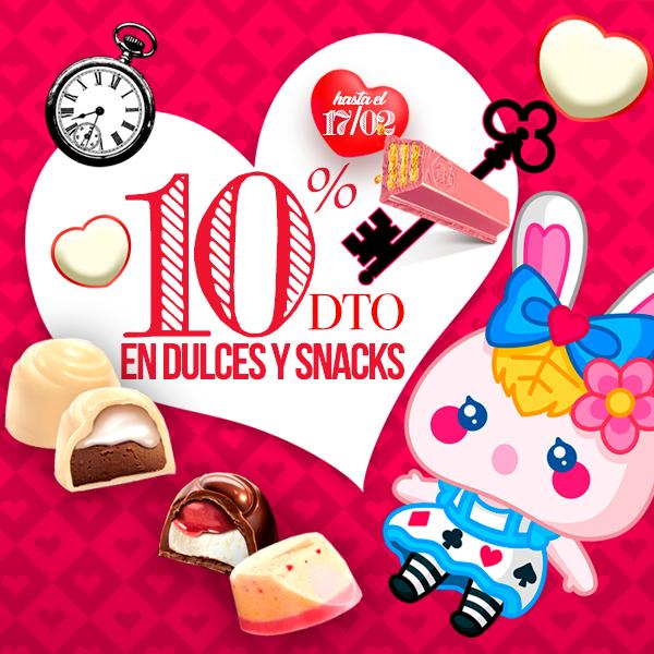 ÚLTIMO DÍA!! ¡10% de descuento en Dulces & Snacks!