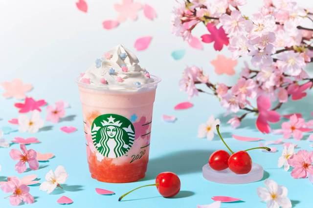 Starbucks Japón lanza su segundo frapuccino especial Cherry Sakura!
