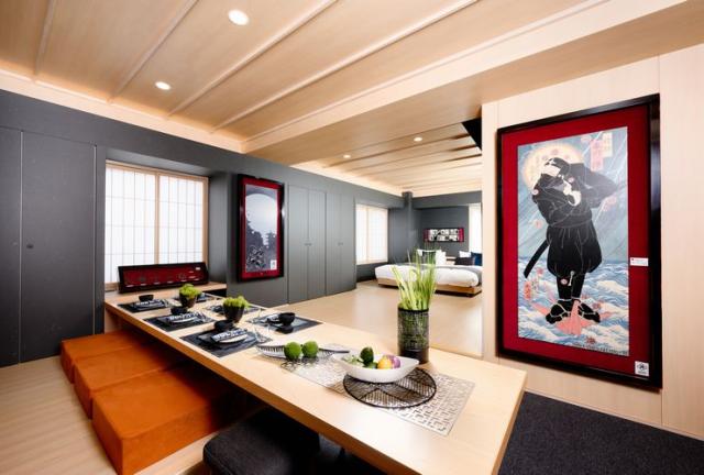 El Concilio Ninja japonés diseña una habitación de hotel alucinante! ¿La vemos?