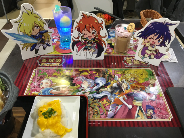 Slayers Anime Cafe! El motivo perfecto para un SideQuest en Akihabara!
