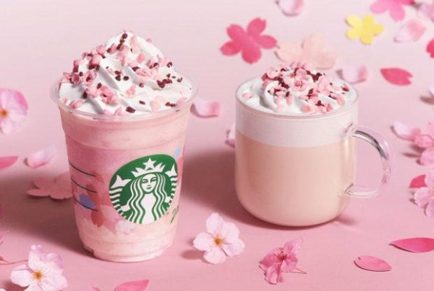 actualidad japon  Hanami 2020! Cerezos en flor con los primeros frapuccinos de Starbucks!