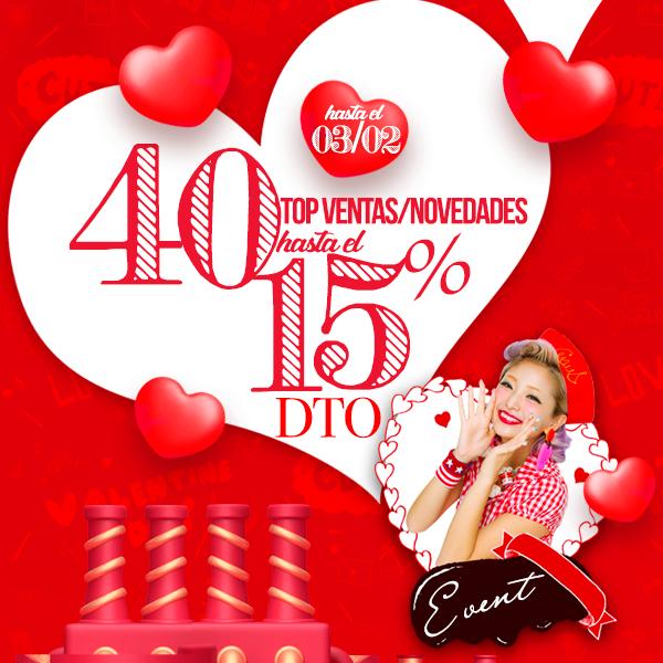 ÚLTIMO DÍA ¡Ofertón: 40 productos Top Ventas y Novedades hasta un 15%!