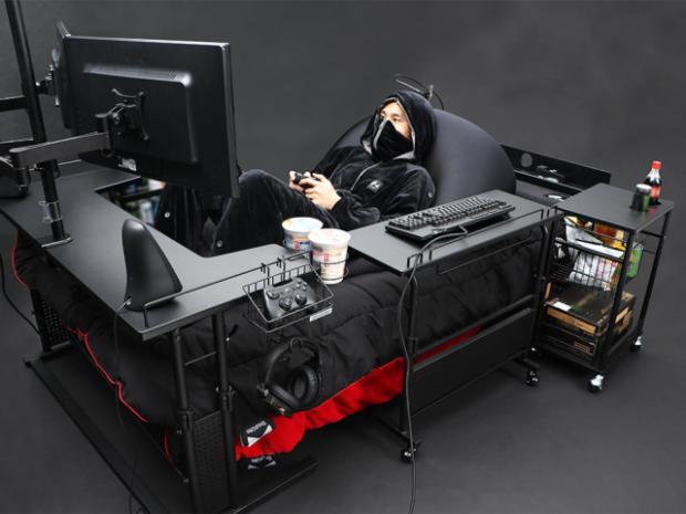 actualidad curiosidades japon  ¡La CAMA Gamer que revoluciona Japón!
