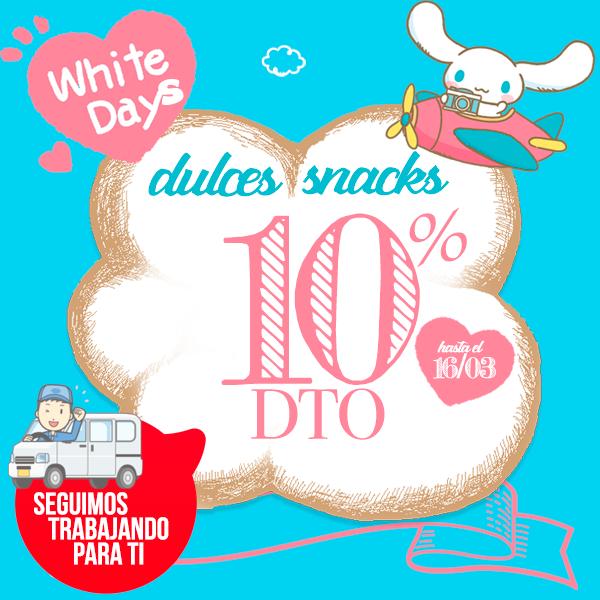 WhiteDays en Japonshop!! 10% de descuento en Dulces & Snacks (ÚLTIMO DÍA)