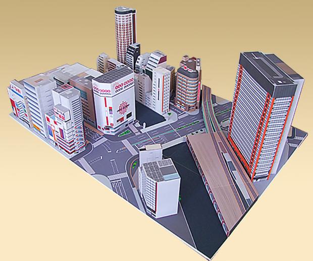 ¡Crea el barrio de Akihabara de papel con este KIT GRATIS para esta cuarentena!