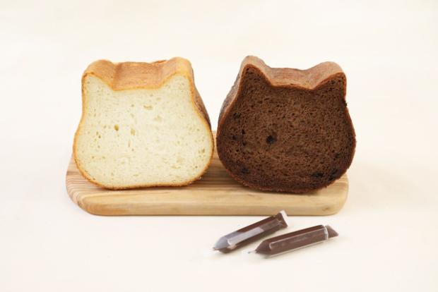 actualidad curiosidades japon  ¡Pan con forma de Neko! Disfruta de este pan tan especial ahora también on-line!