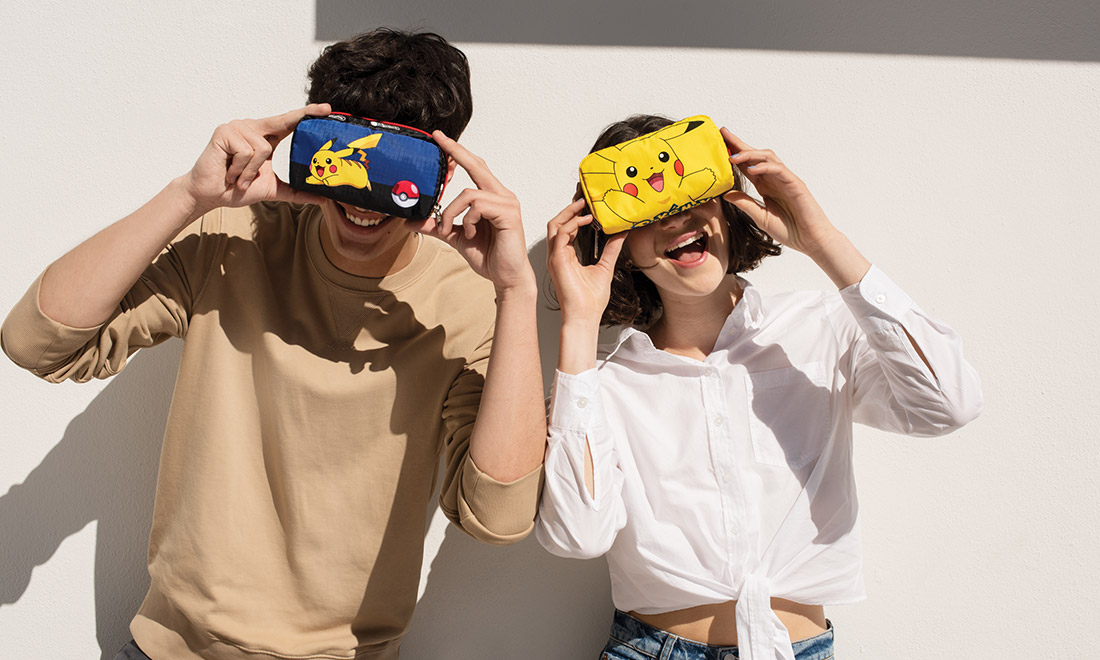 ¡Pikachu te elijo a ti! ¡Nueva colección de LeSportSac y fondos para videollamadas!