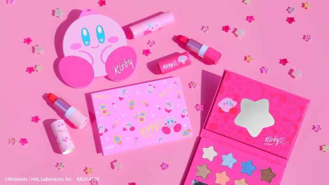 Nueva línea de Kirby Cosmetics! Maquillaje del amor!! Kawaiiii!!