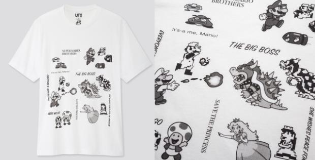 actualidad japon  Nueva colección de Super Mario UNIQLO Especial 35 Aniversario