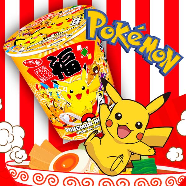 actualidad comida japonshop  ¡Itadakimasu con Japonshop! Ramen de Pokemon para disfrutar en casa a mogollón!