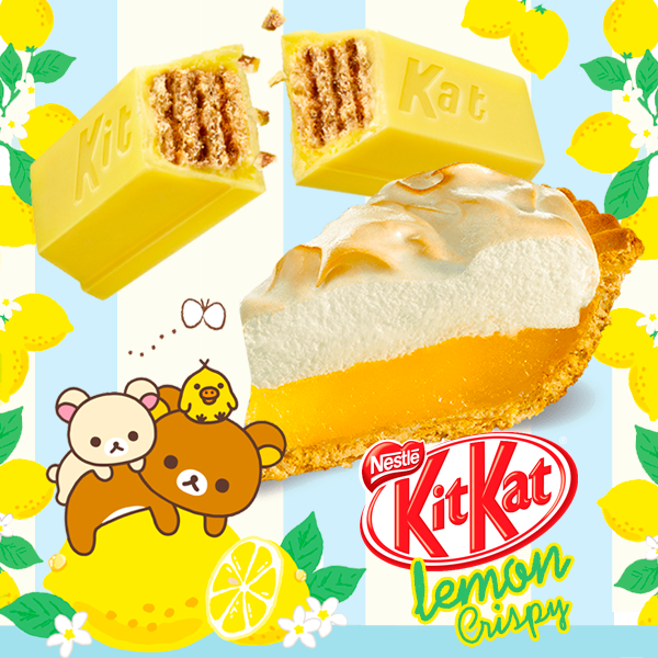 Cambia el chip a primavera! Nuevos Mini Kit Kats Lemon Crisp!