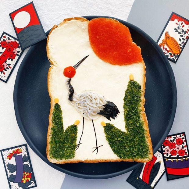 curiosidades japon  ¡Desayuno artístico y zen con este artista japonés y sus creaciones!