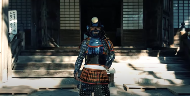curiosidades japon  Asalto Shinobi a través de los ojos de un ninja recreado con un dron!
