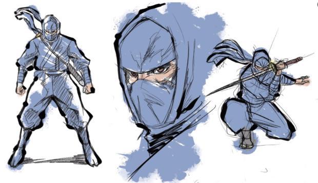 curiosidades japon  Tiempo y talento! Cortos del confinamiento, lucha ninja! Dibujante VS dibujo!!