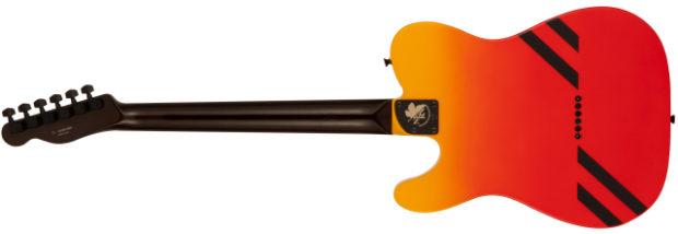 Sin categoría  Os presentamos la Evangelion Asuka Telecaster!! Guitarra de edición limitada!