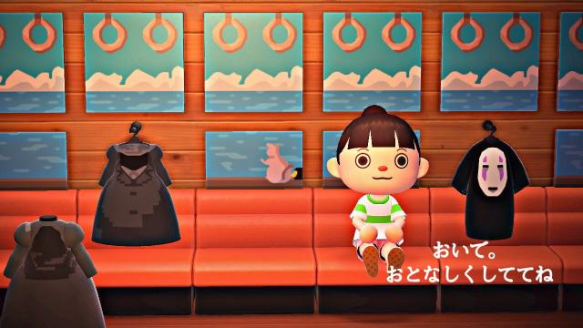 ¡El increíble mundo de El Viaje de Chihiro recreado en Animal Crossing!
