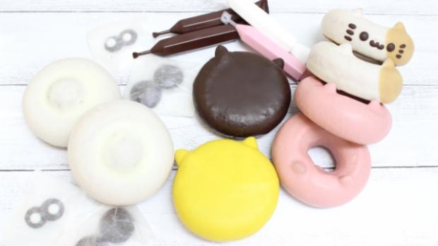 comida curiosidades japonshop  Kit para hacer Neko-Donuts Kawaii en Japón ¿Te animas con ellos?