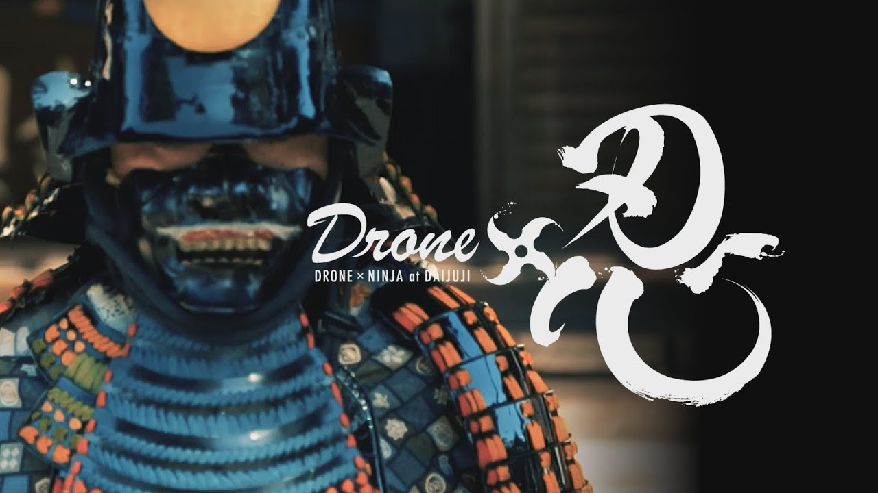 Asalto Shinobi a través de los ojos de un ninja recreado con un dron!