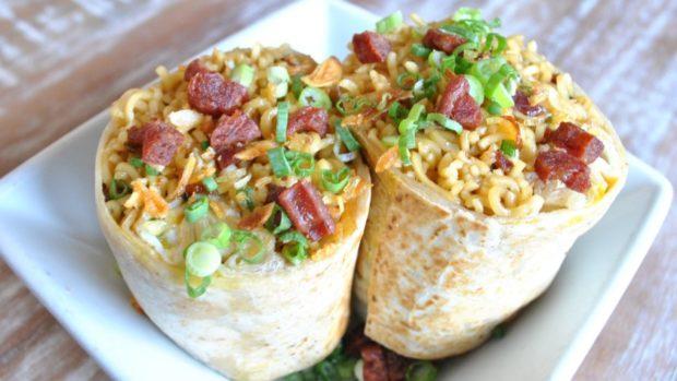 comida curiosidades japon japonshop  Itadakimasu! ¡Tacos hechos de noodles y ramen wraps!
