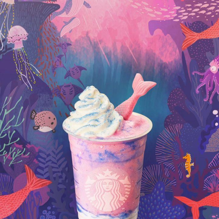 ¡Frapuccino de Sirena y más novedades veraniegas en Starbucks!